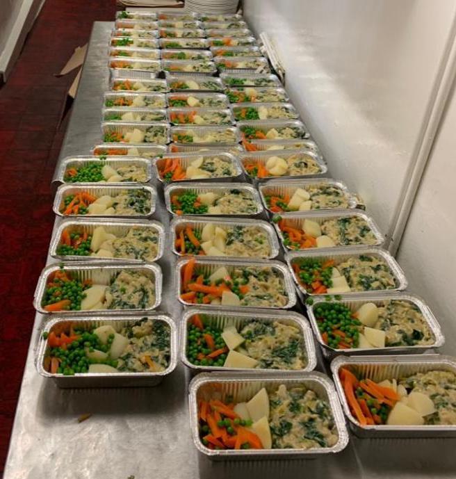 Local hotel supports Good Neighbourhood Scheme with fresh frozen meals