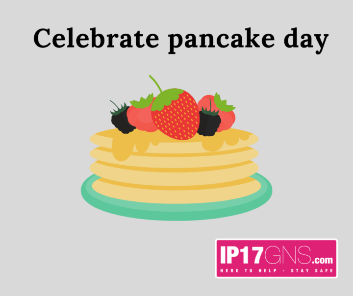 Celebrate Pancake Day!