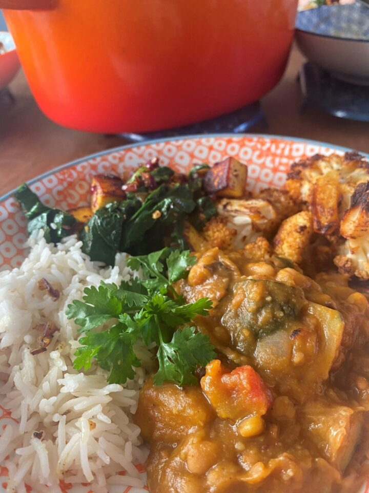 Food Pack Recipe: Mushy Pea Curry