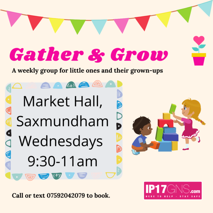 Gather & Grow: IP17GNS launch a group for parents & young children